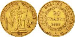 Ancient Coins - Coin, France, Génie, 20 Francs, 1889, Paris, EF(40-45), Gold, KM:825