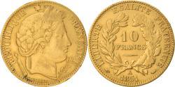 World Coins - Coin, France, Cérès, 10 Francs, 1851, Paris, , Gold, KM:770