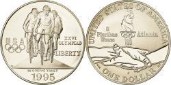 Us Coins - Coin, United States, Atlanta, Dollar, 1995, U.S. Mint, Philadelphia,