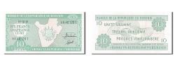 World Coins - Burundi, 10 Francs, 1991, KM #33b, 1991-10-01, AU(55-58), AN 401291