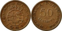 World Coins - Coin, Angola, 2-1/2 Escudos, 1954, , Copper-nickel, KM:Pr34