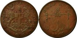 World Coins - Coin, INDIA-BRITISH, BOMBAY PRESIDENCY, 1/2 Anna, 1834, , Copper