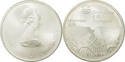 World Coins - Coin, Canada, Elizabeth II, 10 Dollars, 1976, Royal Canadian Mint, Ottawa