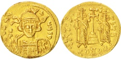 Ancient Coins - Constantine IV 668-685, Solidus, Constantinople, , Gold, Sear #1154,...