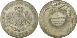 World Coins - France, Medal, Société Normande de Géographie, Rouen, 1921, Bonnefond