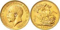 Ancient Coins - Coin, Australia, George V, Sovereign, 1917, Sydney, MS(60-62), Gold, KM:29