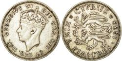 Ancient Coins - Coin, Cyprus, George VI, 9 Piastres, 1938, , Silver, KM:25