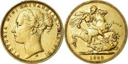 World Coins - Coin, Australia, Victoria, Sovereign, 1882, Melbourne, , Gold, KM:7