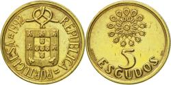 World Coins - Coin, Portugal, 5 Escudos, 1992, , Nickel-brass, KM:632
