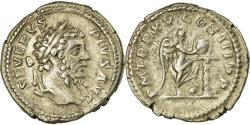 Ancient Coins - Coin, Septimius Severus, Denarius, 207, Rome, AU(50-53), Silver, RIC:211