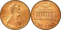 Us Coins - Coin, United States, Lincoln Cent, Cent, 2004, U.S. Mint, Philadelphia