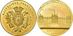 World Coins - France, Medal, Exposition Industrielle et Commerciale de Poitiers, 1899