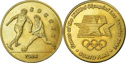 Us Coins - United States of America, Medal, Jeux Olympiques de Los Angeles, Soccer, 1984