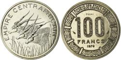 World Coins - Coin, Central African Republic, 100 Francs, 1978, ESSAI, , Nickel