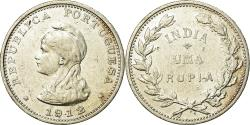 World Coins - Coin, INDIA-PORTUGUESE, Rupia, 1912, , Silver, KM:18