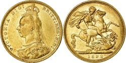 World Coins - Coin, Australia, Victoria, Sovereign, 1892, Melbourne, , Gold, KM:10