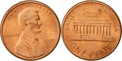 Us Coins - United States, Lincoln Cent, Cent, 1989, U.S. Mint, Philadelphia,