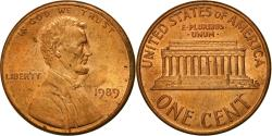 Us Coins - Coin, United States, Lincoln Cent, Cent, 1989, U.S. Mint, Philadelphia