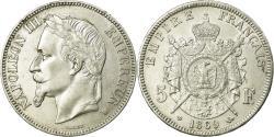 World Coins - Coin, France, Napoléon III, 5 Francs, 1869, Strasbourg, , Silver