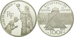 World Coins - Coin, France, Sacre de Napoléon Ier, 100 Francs, 1993, , Silver