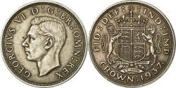 World Coins - Coin, Great Britain, George VI, Crown, 1937, , Silver, KM:857