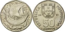 World Coins - Coin, Portugal, 50 Escudos, 2001, , Copper-nickel