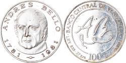 World Coins - Coin, Venezuela, 100 Bolivares, 1981, Werdohl, Vereinigte Deutsche Metallwerke