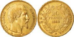 Ancient Coins - Coin, France, Napoleon III, 20 Francs, 1860, Paris, , KM 781.1