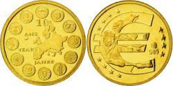 World Coins - France, Medal, 10 ans de l'Euro, 2009, , Gold