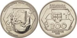 World Coins - Portugal, 200 Escudos, 1991, , Copper-nickel, KM:659