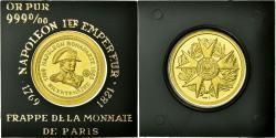 World Coins - France, Medal, Napoléon Bonaparte, Bicentenaire, , Gold