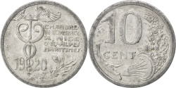 World Coins - France, 10 Centimes, 1920, , Aluminium, Elie #10.2, 1.51