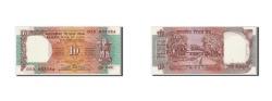 World Coins - India, 10 Rupees, Undated (1992), KM:88e, UNC(60-62)