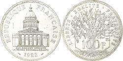 World Coins - Coin, France, Panthéon, 100 Francs, 1982, Pessac, ESSAI, , Silver