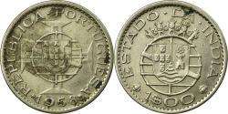 World Coins - Coin, INDIA-PORTUGUESE, Escudo, 1958, , Copper-nickel, KM:33