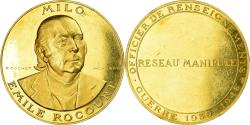 World Coins - France, Medal, Milo Emile Rocourt - Guerre 1939-1945, 1975, Cochet, , Gold