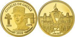 World Coins - France, Medal, Charles De Gaulle, 2010, , Gold