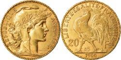 Ancient Coins - Coin, France, Marianne, 20 Francs, 1900, Paris, , Gold, KM:847
