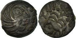 Ancient Coins - Coin, Senones, Bronze YLLYCCI à l'oiseau, , Bronze, Delestrée:S2637A