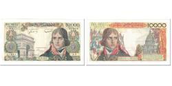 World Coins - France, 10,000 Francs, Bonaparte, 1955, 1955-12-01, AU(50-53), Fayette:51.01