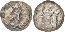 Ancient Coins - Sassanid (II century BC - VII century BC), Yazgard I (399-420), Drachm,...