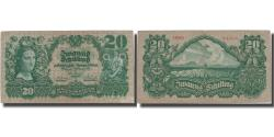 World Coins - Banknote, Austria, 20 Schilling, 1928, 1928-01-02, KM:95, VF(30-35)