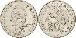 World Coins - New Caledonia, 20 Francs, 1983, Paris, , Nickel, KM:12