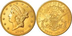 Coin, United States, Liberty Head, $20, Double Eagle, 1904, U.S. Mint
