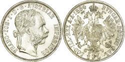 World Coins - Coin, Austria, Franz Joseph I, Florin, 1884, , Silver, KM:2222