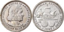 Us Coins - Coin, United States, Half Dollar, 1893, U.S. Mint, Philadelphia,
