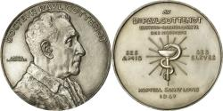 World Coins - France, Medal, Docteur Paul Cottenot, Medicine, 1947, Lavrillier,