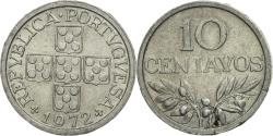World Coins - Coin, Portugal, 10 Centavos, 1972, , Aluminum, KM:594