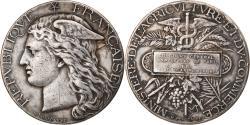 World Coins - France, Medal, Agriculture, Concours Général de Paris, Animaux Gras, 1881