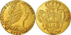 World Coins - Coin, Brazil, Jose I, West Indies Imitation, 6400 Reis, 1777, Bahia,